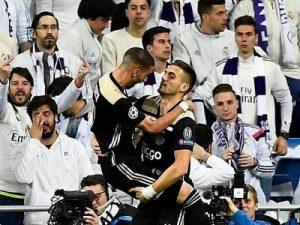 Ajax eliminuje Real naBernabeu