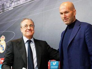 Zidane wraca ponownie trenerem Realu Madryt