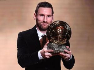 Złota Piłka 2019 Leo Messi