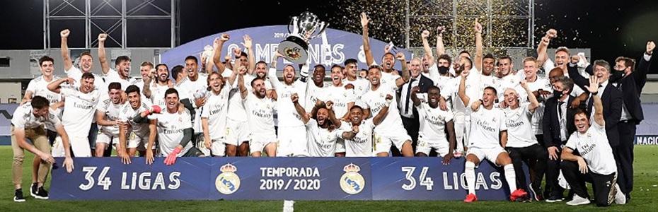 Real Madryt mistrz Hiszpanii 2020