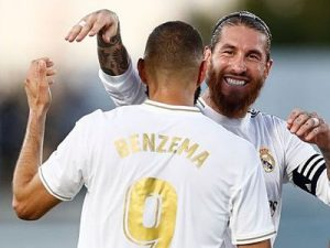 Real Madryt Benzema Ramos mistrz 2020