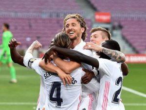 Barcelona-Real Madryt 1-3 hiszpańska la liga 2020/2021