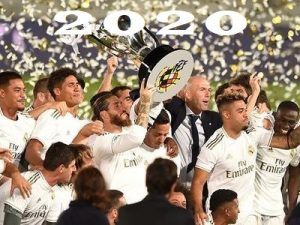 Real Madryt podsumowanie rok 2020