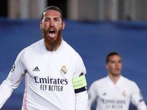 Real Madryt - Atalanta 3-1 Liga Mistrzów 2020/2021