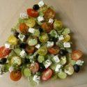 Sałatka zbobem ifetą
